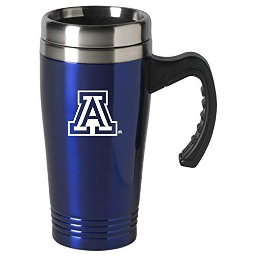 University of Arizona-16 oz. Stainless Steel Mug-Blue ()