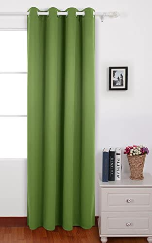 Deconovo Darkening Thermal Insulated Blackout Grommet Window Curtain Panel