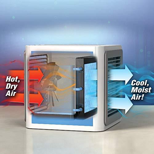 humidificateur dair Personnel de Refroidisseur dair et purificateur dair portatif Personnel pour la Chambre de Bureau /à Domicile RichDeer Climatiseur portatif