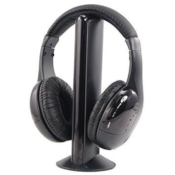 Akai CW04 Auricular con micrófono Binaural Diadema Negro: Amazon.es: Electrónica