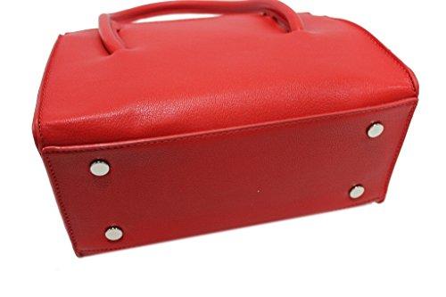 fiocco Lookat a1803 donna fiocco Borsetta donna rosso linea linea Borsetta F5nRx