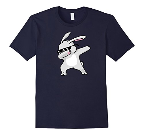 [Men's Dabbing Easter Bunny Funny Shirt Dab Hip Hop Small Navy] (Toddler Cat Costume Ideas)