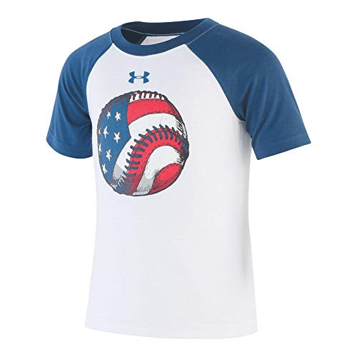 Under Armour Boys' Toddler Graphic SS Tee Shirt, White-S195, 2T ()