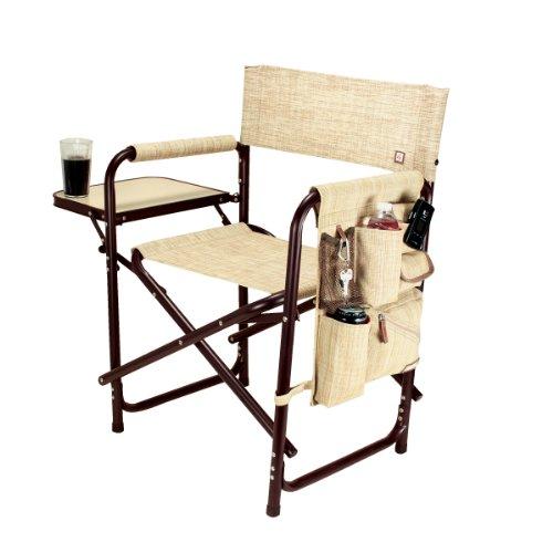 Picnic Time Portable Folding Sports Chair, Botanica