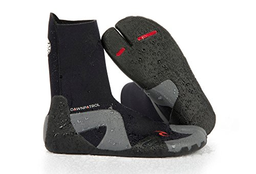 Rip Curl Dawn Patrol Split Toe Wetsuit, Black, Size 13/3mm