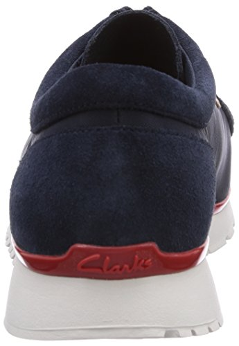 Clarks Originals Tawyer Lo Herren Sneakers Blau (Navy Combi Suede)