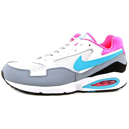 NIKE Women's Air Max St Ankle-High Leather Running Shoe White/Dsty Ccts-mgnt Gry-hypr Blanc sale geniue stockist low shipping sale online from china gkqr7y7MP6