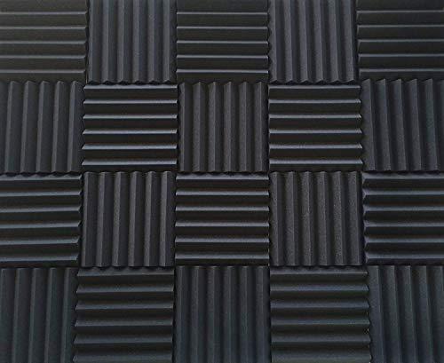 Sound Barrier Foam - Soundproofing Acoustic Studio Foam - Wedge Style Acoustic Foam Panels 12