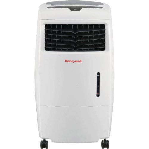 Honeywell CL25AE 52 Pt. Indoor Portable Evaporative Air Cooler with Remote Control - White