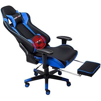 Amazon Com Ficmax High Back Gaming Chair Racing Style