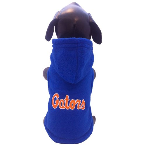 NCAA Florida Gators Polar Fleece Hooded Dog Jacket, X-Large