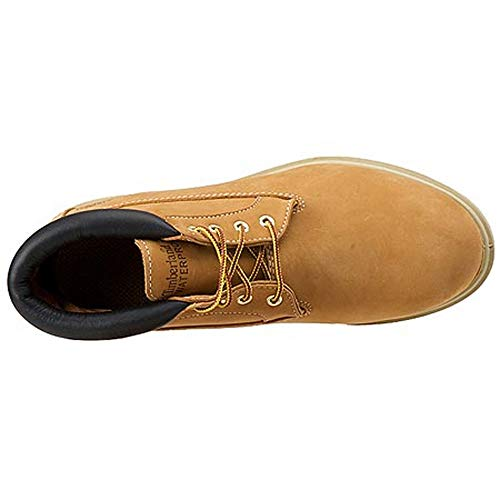 Newman Chukka Premium Men's With Boot Bottom Wp Nubuck Wheat Rubber Timberland BtIwT