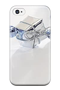 Defender Case For Iphone 4/4s, Christmas Holiday Christmas Pattern
