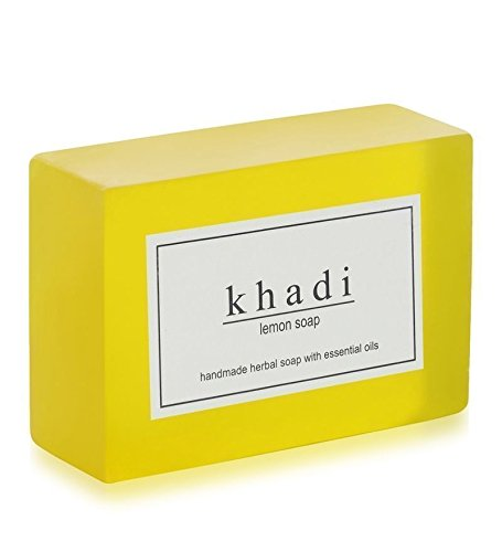 Khadi Natural Ayurvedic Herbal Handmade Lemon Soap 125gm
