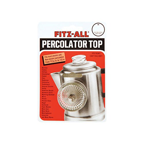 Top Dia Glass (Tops Replacement Percolator Top Fits Opening From 13/16