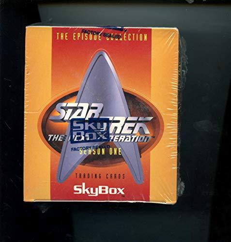 1994 Skybox Star Trek Trading Card Wax Pack Box The Next Generation Season One 1 Set