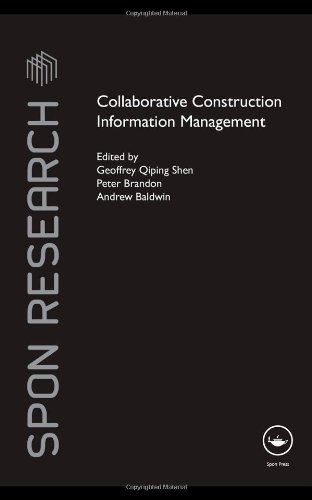 Collaborative Construction Information Management (Spon Research)