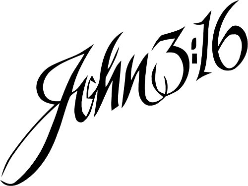 John 3:16. Transfer tattoos tattooing temporary tattoos Cute Face tattoos one sheet of A4 paper -
