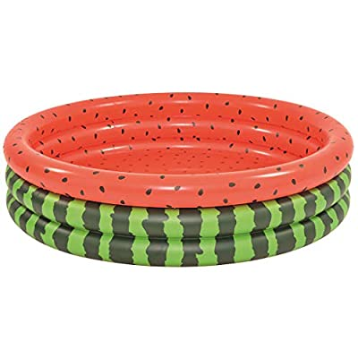 Nesee Thickened Inflatable Watermelon Swimming Pool Family Summer Water Play Fun Center for Outdoor Backyard Kids Children Ages 3 and up: Toys & Games