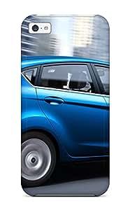 ZippyDoritEduard Fashion Protective Ford Fiesta Sedan Buildings Case Cover For Iphone 5c
