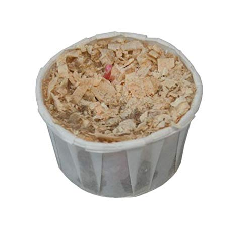 65 Pack with Storage Bucket Great for Fireplace Camp Fires Qwick Wick Fire Starters Wood Stoves
