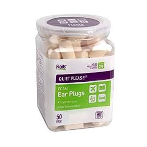 Flents Quiet Please Ear Plugs (50 Pair)