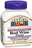 21st Century Resveratrol Red Wine Extract Capsules - 90 ct Pack of 3 Discount
