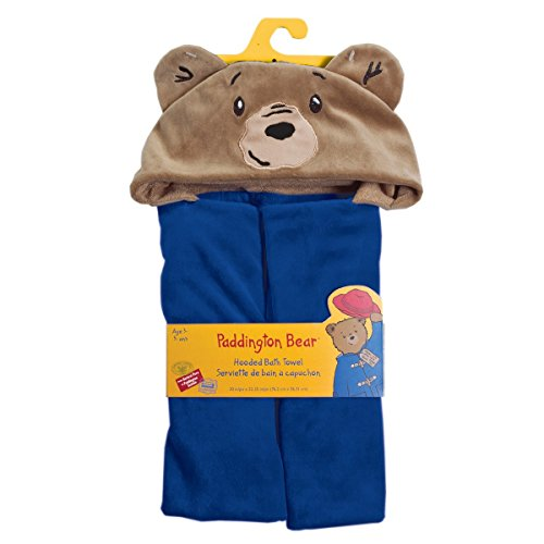 ddington Bear Hooded Bath Towel (Soft Teddy Bear Terry)