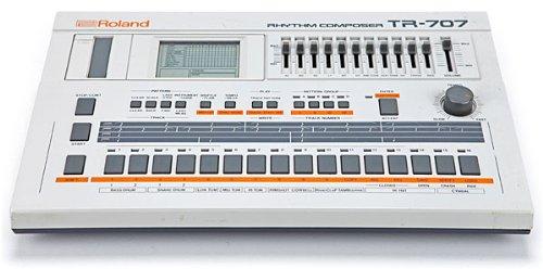 Roland Vintage Drum Machine Tr-707