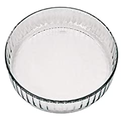 Marinex Glass Fluted Flan or Quiche Dish...