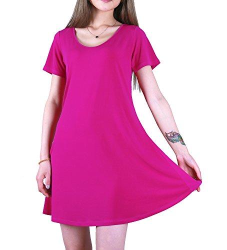 Favelem Womens Short Sleeve Dresses product image