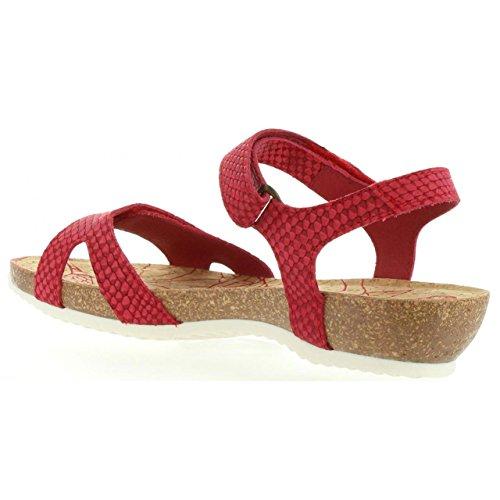 PANAMA JACK Sandalen Für Damen Dania Snake B2 Napa Rojo