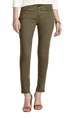 - Chaps Women's Icon 4-Way Stretch Slim Leg Pant (Brown, 16)