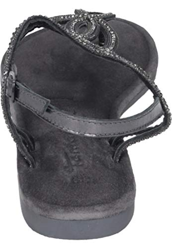 Negro Metallic black 1 22 Mujer 28115 Pulsera Sandalia Para Con 1 12 Tamaris UqPnzz