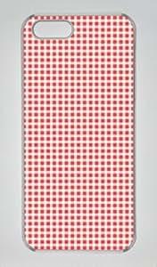 Fresh Squares Pattern-3 Sakuraelieechyan Iphone 5/5S Hard Shell Transparent Sides Case
