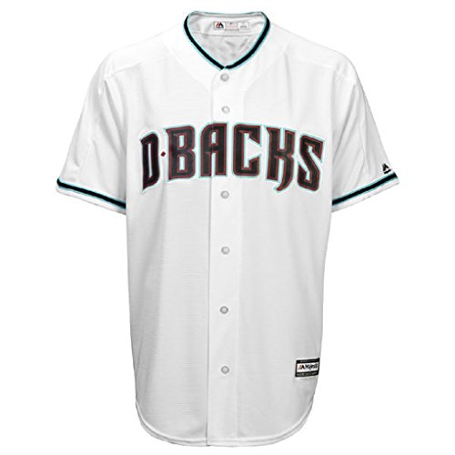 Zack Greinke Arizona Diamondbacks #21 MLB Men's Official Cool Base Player Jersey White (XXlarge) by Majestic Athletic