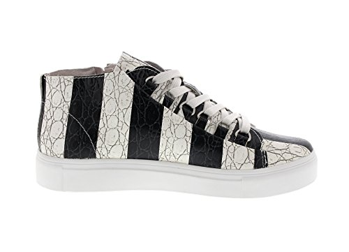 Blackstone Sneaker Striper Nl43 Sneaker Striper Svart Sneaker Nl43 Blackstone Svart Blackstone RxWwwtfBn