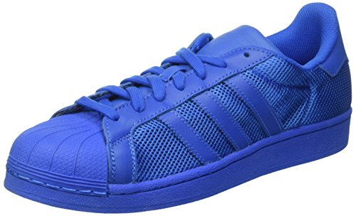 Adidas Superstar Unisex Trenere Blå - 8 Uk