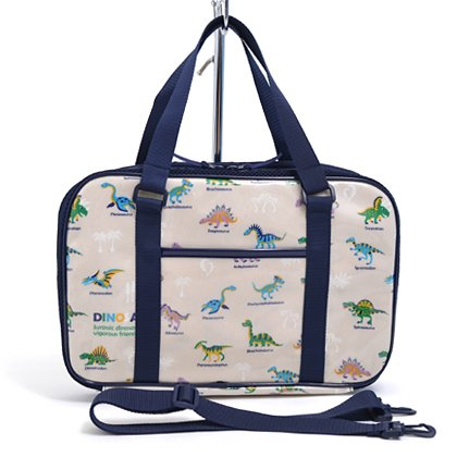 Large set Kids Calligraphy, penmanship bag rated on style dinosaur king (only bag) is (generation) made in Japan N2203100 (japan import)