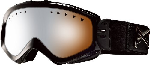 Anon Majestic Goggles (2012 Closeout) - black emblem/silver amber lens