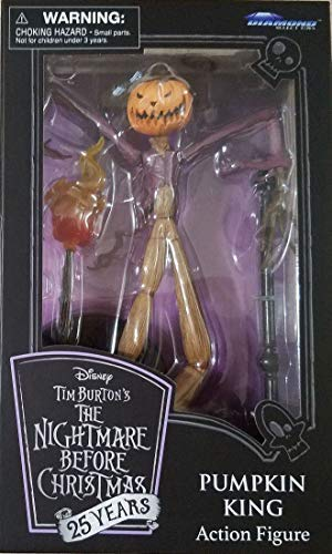 DIAMOND SELECT TOYS Nightmare Before Christmas Pumpkin King 25 Years Anniversary Figurine