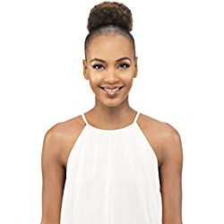 Vivica A Fox Hair Collection Pb31-v Small Kinky Afro Puff Pocket Bun, 1B, 3.4 Ounce