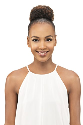(Vivica A Fox Hair Collection Pb31-v Small Kinky Afro Puff Pocket Bun, 1B, 3.4 Ounce)