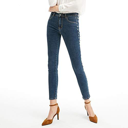 Jeans Jeans N Jeans Jeans S elastische Femme gel Bleistifte Taille MVGUIHZPO zqaxZwZ