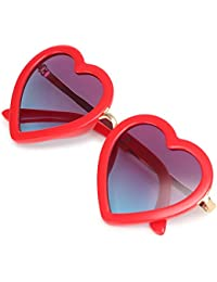 Trendy Heart Shaped Sunglasses for Toddler Girls Age 3 -10
