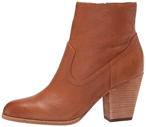 Frye Women's Essa Bootie Ankle Boot, Cognac, 7.5 Medium US
