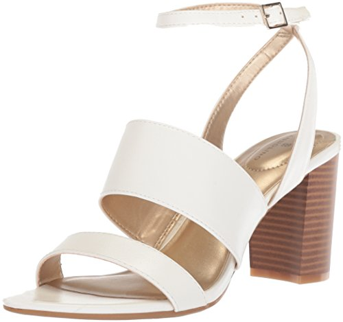 Bandolino Women's Anchor Heeled Sandal White free shipping pay with visa shipping outlet store online footlocker finishline for sale the best store to get SSTVlwyb6