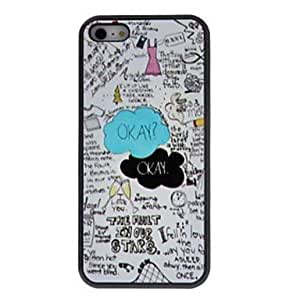 Beautiful Cartoon Style Interesting Things Patterns PC Hard Case for iPhone 5/5S