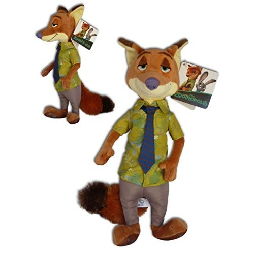 ZOOTOPIA – Plush Toy Nick Wilde (red fox 12/32cm) of the Movie Zootopia (Zootropolis) – Quality Super Soft by ZOOTOPIA (ZOOTROPOLIS)