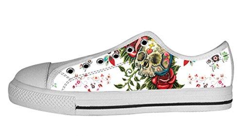 Andas Antisladd Låg Topp Tygskor Med Dag Död Design För Kvinnor Damer Shoes11